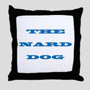 nard dog Throw Pillow
