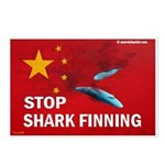 Anti Shark finning Postcards (Package of 8)
