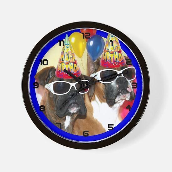 Birthday Boxers Wall Clock