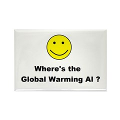 Global Warming Hoax Rectangle Magnet (100 pack)