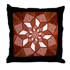 Fractal Dream Throw Pillow