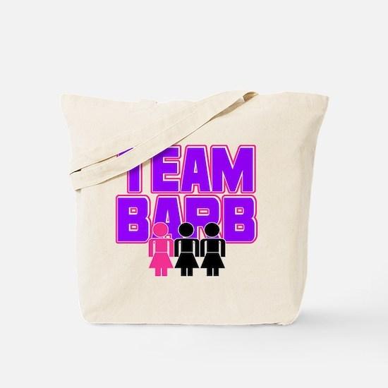 Team Barb Tote Bag