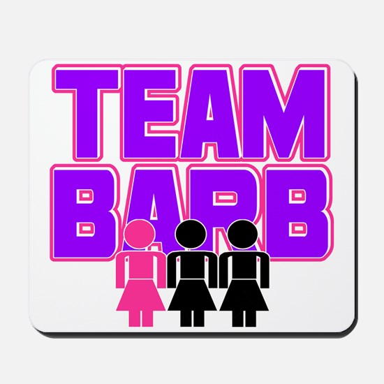 Team Barb Mousepad
