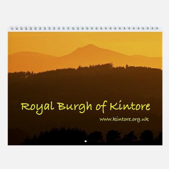 Royal Burgh of Kintore Wall Calendar