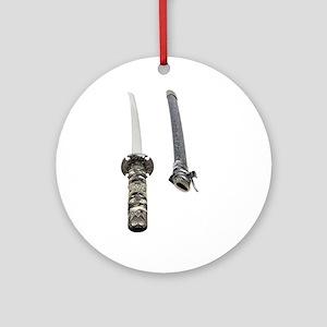 Samurai Sword Ornament (Round)