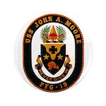 USS JOHN A. MOORE Button