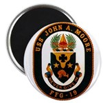 "USS JOHN A. MOORE 2.25"" Magnet (100 pack)"