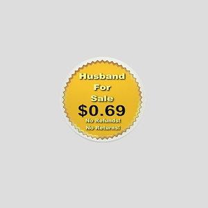 Husband For Sale Mini Button