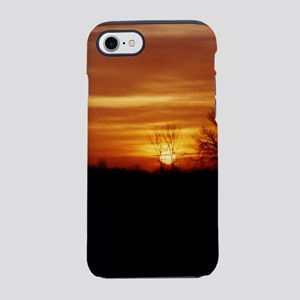 Harvest Moons Sunset iPhone 7 Tough Case