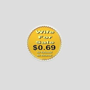 Wife For Sale Mini Button