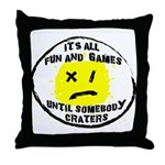 Fun & Games Throw Pillow