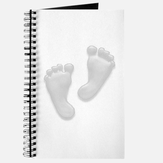 Beautiful Baby Feet by Leslie Journal