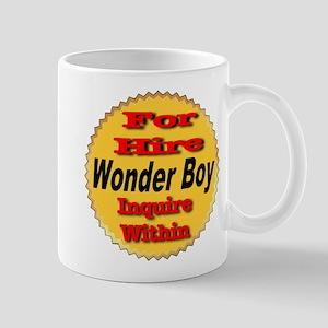 For Hire Wonder Boy Mug