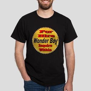 For Hire Wonder Boy Dark T-Shirt