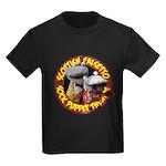 Kids Dark T-Shirt Socks logo 2012