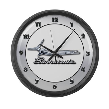 Barracuda Logo Large Wall Clock