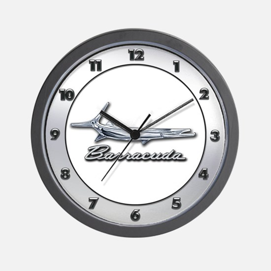 Barracuda Logo Wall Clock