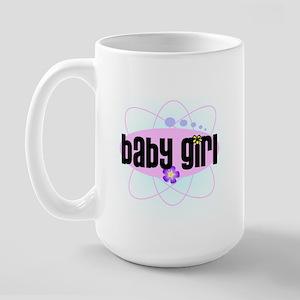 baby girl Large Mug