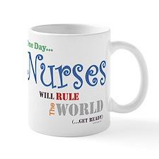 Nurses Will Rule The World Mug