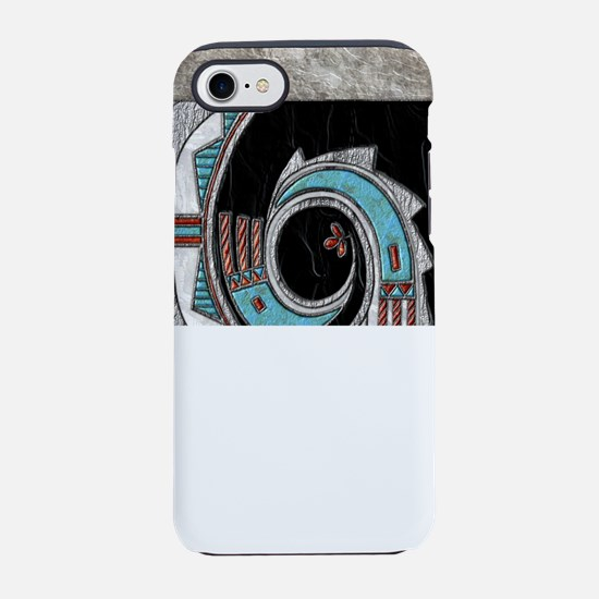 Harvest Moons Turquoise Medallion iPhone 7 Tough C