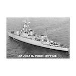 USS JOHN R. PERRY Mini Poster Print