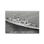 USS JOHN R. PERRY Rectangle Magnet (10 pack)