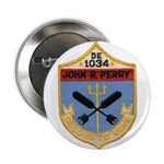"""USS JOHN R. PERRY 2.25"""" Button (100 pack)"""