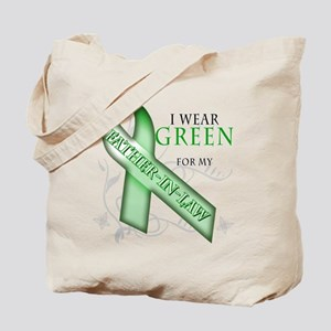 I Wear Green for my Father-In-Law Tote Bag