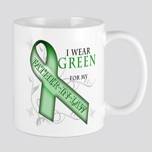 I Wear Green for my Father-In-Law Mug