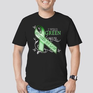 I Wear Green for my Father-In-Law Men's Fitted T-S