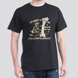 When I grow up Paleontologist Dark T-Shirt