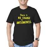 No Charge For Awesomeness Men's Fitted T-Shirt (da