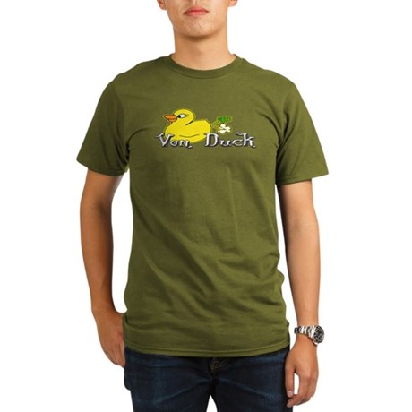 Von Duck Organic Men's T-Shirt (dark)