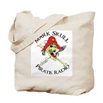 Mark Skull Pirate Radio Tote Bag