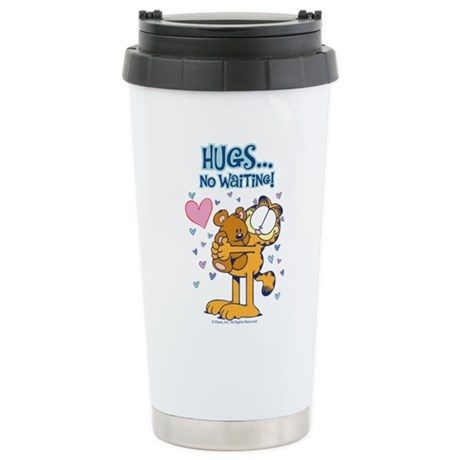 Hugs...No Waiting! Stainless Steel Travel Mug