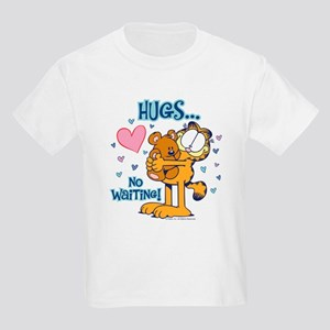 Hugs...No Waiting! Kids Light T-Shirt