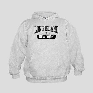 Long Island New York Kids Hoodie