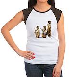 Meerkat Women's Cap Sleeve T-Shirt