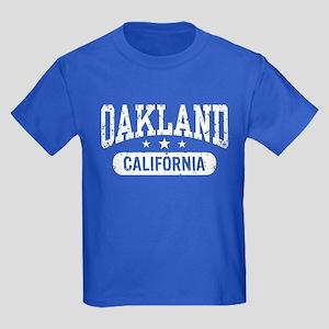 Oakland California Kids Dark T-Shirt