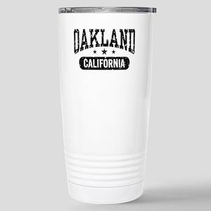 Oakland California Stainless Steel Travel Mug
