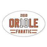 2010 OR10LE Oval Sticker (50 pk)