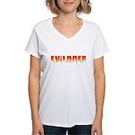 Evildoer Women's V-Neck T-Shirt