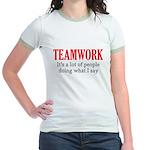 Teamwork Jr. Ringer T-Shirt