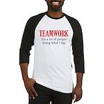 Teamwork Baseball Jersey