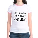 Crazy Person Jr. Ringer T-Shirt