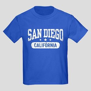 San Diego California Kids Dark T-Shirt