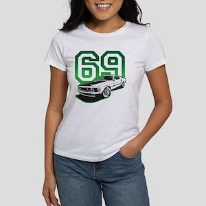 '69 Mustang in Bullit Green Women's T-Shirt