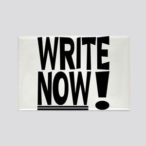 WRITE NOW! Rectangle Magnet