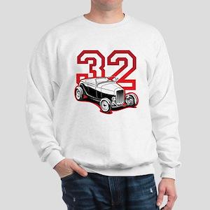 '32 Roadster in Red Sweatshirt