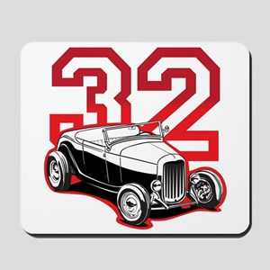 '32 Roadster in Red Mousepad